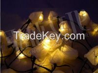 Artificial Flowers/ lights for Decoration