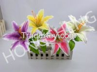 Artificial Flowers Artificial Lily Hand-Made Crafts Gifts Home Decoration
