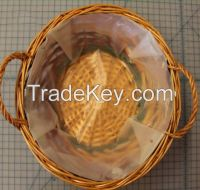 manufacturer,wicker bread tray with handle small wicker tray, cheap price,(factory supplier)