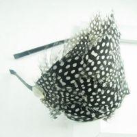 feather hair hoop