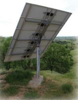 Dual-axis solar tracking system