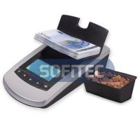 Money Counter which counts both coins & banknotes in same device
