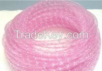 PET Round Braided Sleeve Decorative Color Polyester Tapes  for Christmas, Hair clip hoop and Light String