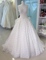 chic wedding dress