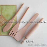 wooden bakeware & wooden baking set