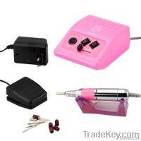 Pink nail drill