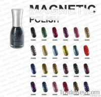 Nail magnetic polish