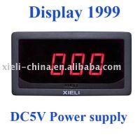 3½ DC Power Supply Measuring DC Digital Ammeter