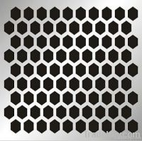 perforated metal sheet (manufacture)