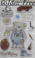 Exchangeable Clear Stamps