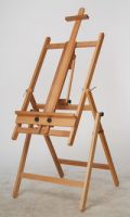 Drawing artist wooden easel