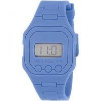 Silicone flat digital watch