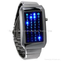 The Warp Core-Japanese Style Blue LED Watch(FW-803)