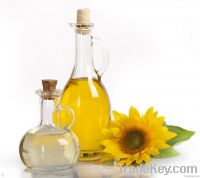 refined & crude  Sunflower cooking oil
