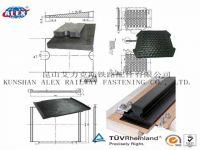 Railway Rubber Pad Free Samples, Rail Track Damping Pad, Rubber Rail Pad
