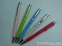 Twist-action pen/ballpoint pen/metal pen