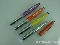 Muti-function pen/ballpoint pen/LED Light Pen/Iphone Screen Touch Pen