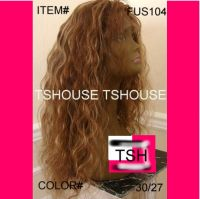 100% Human Virgin Brazilian, Indian Remy , Front &Full Lace wigs
