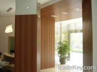 Guangzhou manufacture export interior wood wall cladding in low price