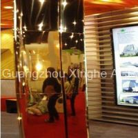silver/golden mirror ACP aluminum composite panel/