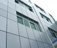 UV Resistant Aluminum Plastic Sheet Curtain Wall