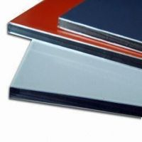 high glossy color alubond aluminium composite sign panel for Ireland