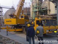 Used kato crane 75t for sale 75 ton kato crane