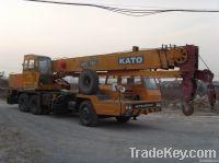 used kato 25T crane NK250E truck crane 25t 25 ton japan MOBILE CRANE