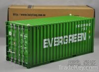1:20 shipping container model evergreen
