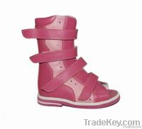 GraceOrtho high open toe boots bulid in AFO Individual orthopedic boots for club feet 4910299