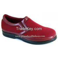 spandex vamp women comfort shoe benefit for flat foot , wide foot , diabetics  (9611087)