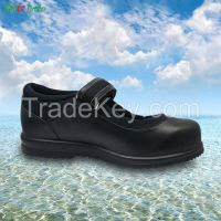 2016 High Quality Genuine Leather women Diabetic Shoes