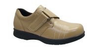 Unisex Leather Comfortable Diabetic Shoes with Extra Depth and Width