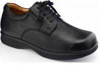 Wide Geniune Leather Diabetic Shoes