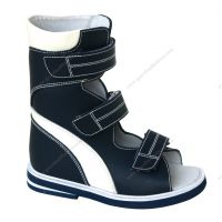 High Ankle Support Boots Spinal Dysraphism Kids Rehabilitation Sandal Afo Build in Shoe
