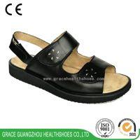 Black Women Diabetic Orthopedic Comfortable Sandal(9815606)