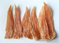Pet food--chicken breast jerky