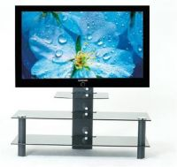 LCD Stand With 3 Shelves