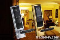 Hotel RF key card lock
