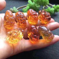 Natural Burmese Amber carvings pendant