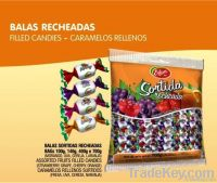 ASSORTED FILLED HARD CANDIES