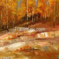 Oil Painting, Oil Painting Picture,