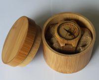 Japan Movement Bamboo Wood Watch Custom Logo