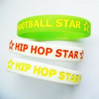 silicone rubber bracelets and product for promotion