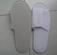 Open Toe Hotel Terry Towel Slipper