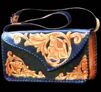Hand Bags of Genuine Leather are available