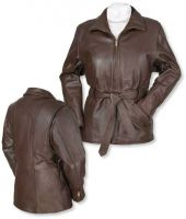 Ladies Leather Fashion Jacket