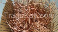 Scrap Metals/Non-Ferrous Materials / Ferrous Materials / copper scrap wire, copper, grade a cathode,