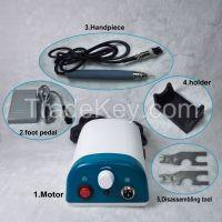 JTT HP-652 BLDC Micromotor Dental Lab Handpiece Polishing 50000RPM for Dentist, Jewlery & Fingernail Polishing