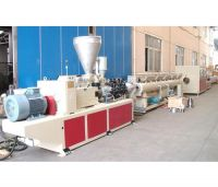 LARGE DIAMETER UPVC SOLID WALL PIPE EXTRUSION LINE